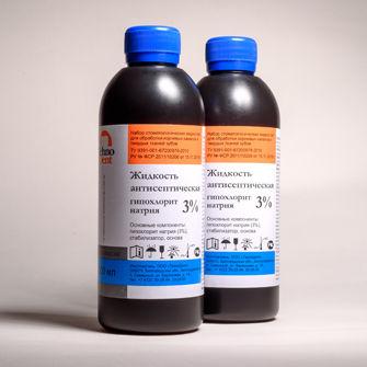 Гипохлорид NА 3% 300мл Технодент Россия