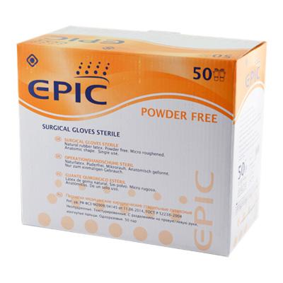 Перчатки EPIC хир.стер. 7,5 уп 50 пар