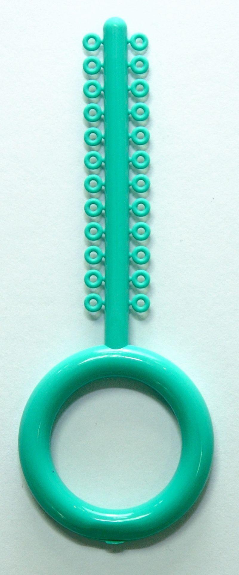 Лигатура эластичная зеленая 1 мод (24 кольца)США