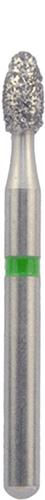379/018 С Бор алмаз.NTI 1 шт(зеленый)