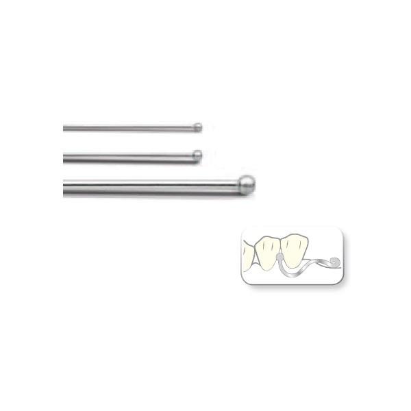 Кламер пуговчатый 0,9 мм (10шт)