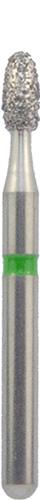 379/016 С Бор алмаз.NTI 1 шт(зеленый)