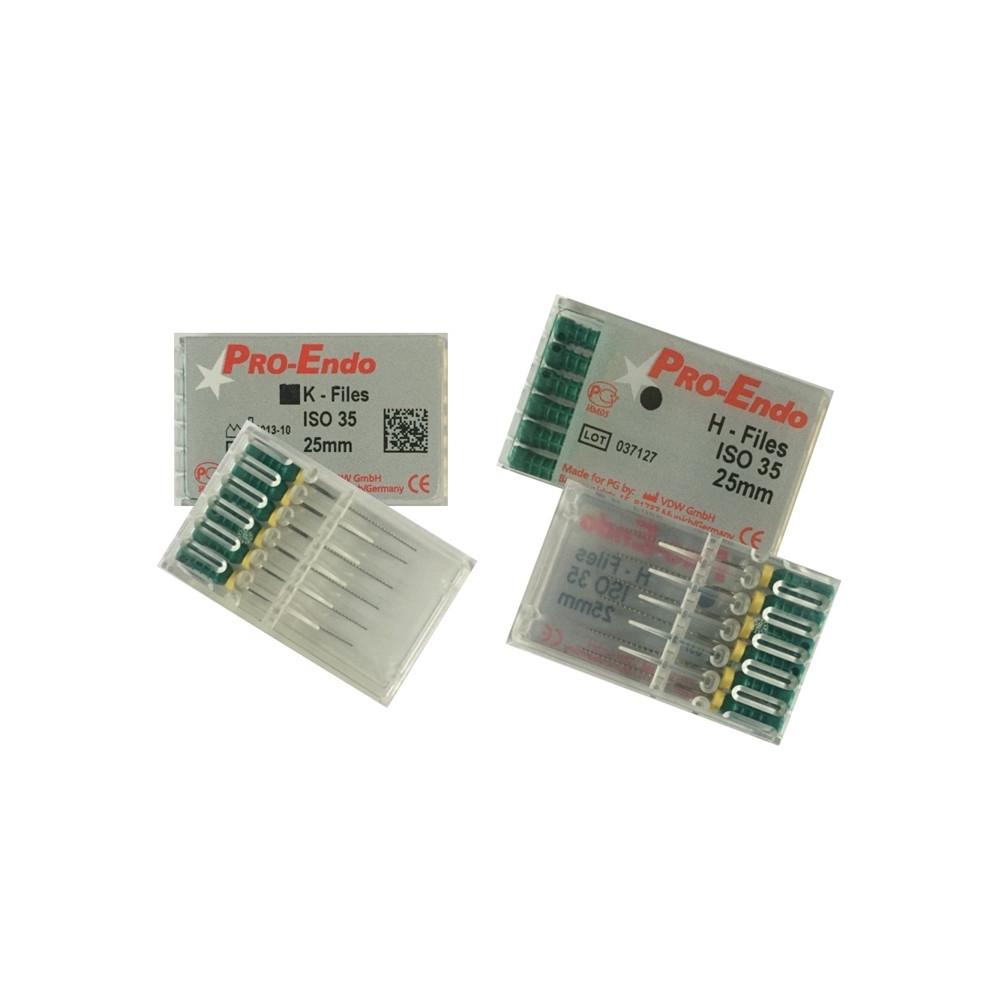 Хедстрем файл Pro-Endo 015-040 25мм,6 шт.