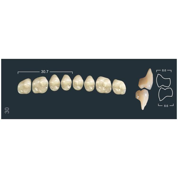 Зубы боковые в/ч 220/30М Ивокляр