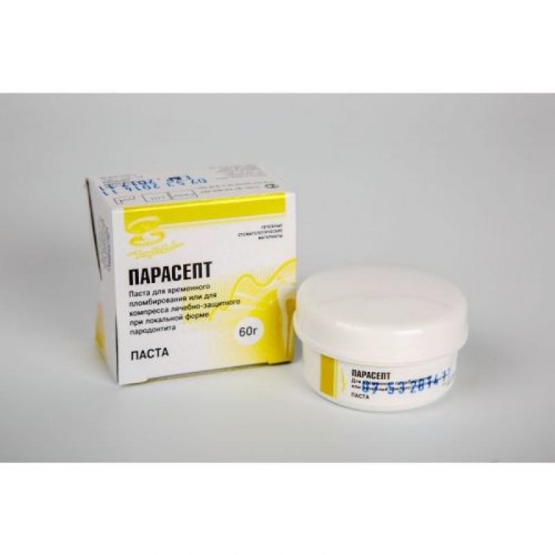 Парасепт-антисептический компресс 60 гр