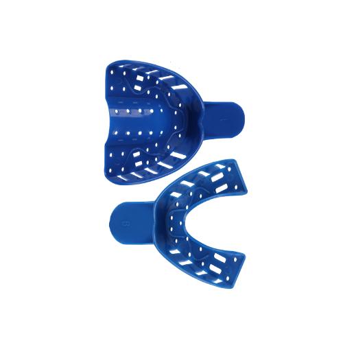 Ложка д/снятия слепков JNB в/ч 3 (12шт) синяя