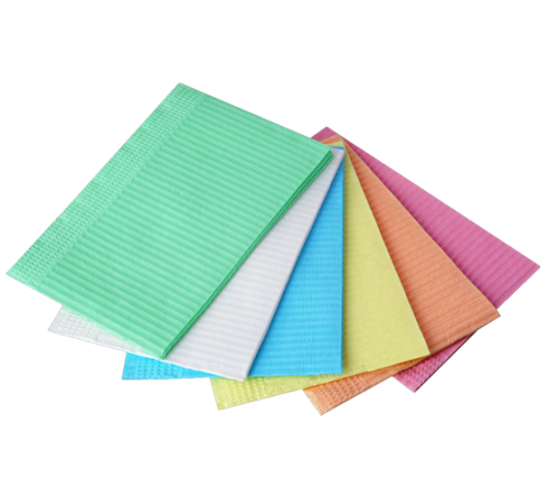Салфетки для пациентов 2-х сл.(фиолетовый)125штJNB