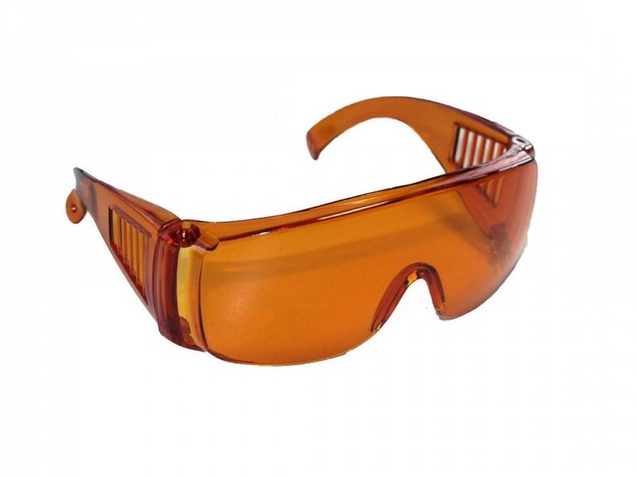 Очки защитные оранжевые JNB