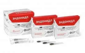 Иглы ЭНДОНИДЛ эндодонт.0,4х38 мм(100 шт) без перфорации Омега
