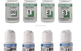 Нить ретракц. «GINGI-PAK» №00 эпинефрин зеленая 274 см